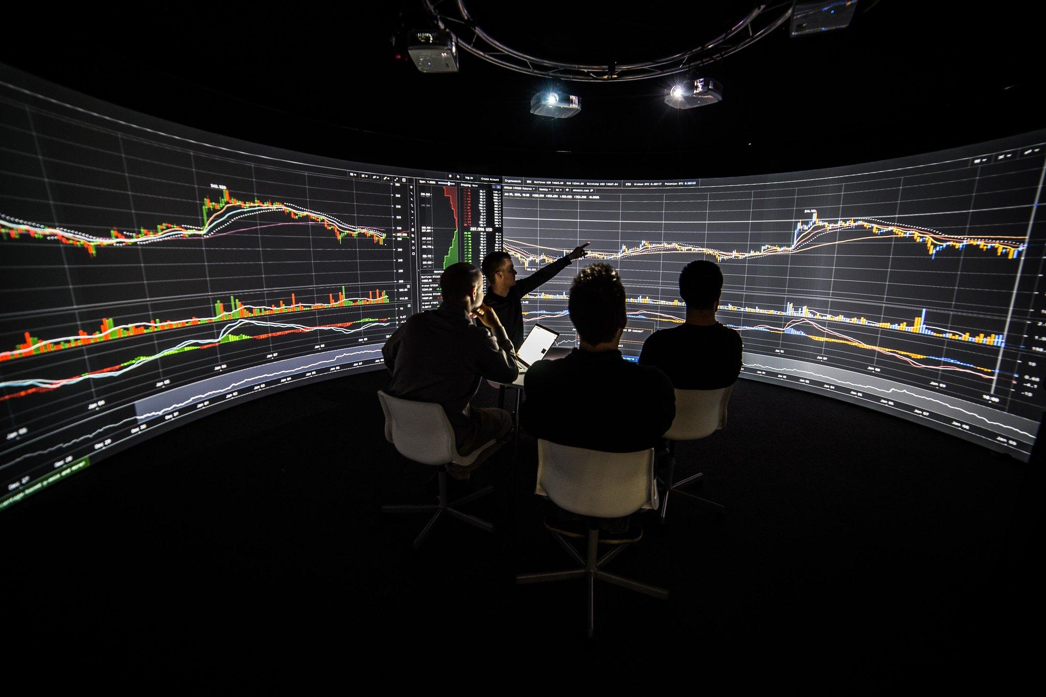 Immersive data visualisation inside Igloo Shared VR.